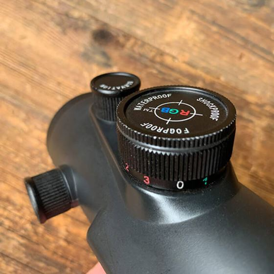Picture of AXEON TRISYCLON - RED/GREEN/BLUE DOT SIGHT
